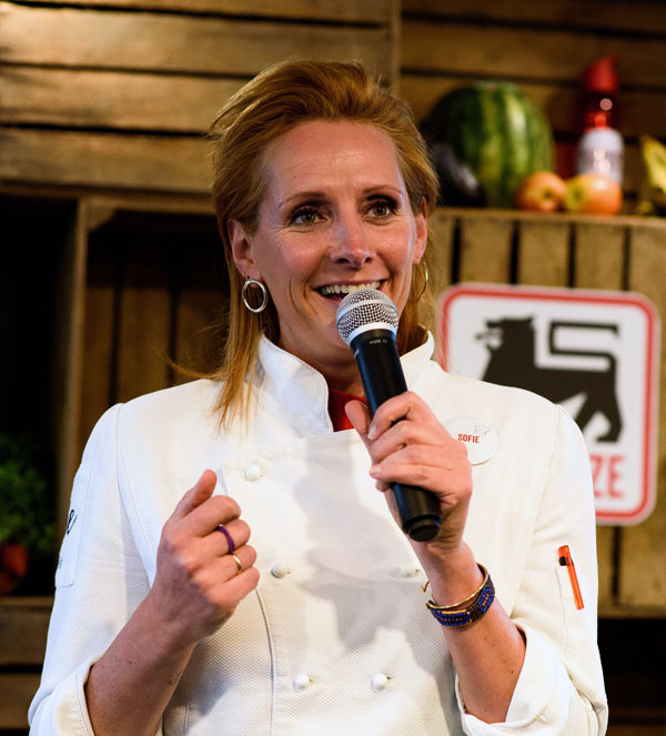 Delhaize store manager soiree Sofie Dumont candidate experience